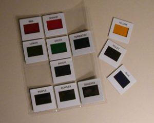 color slides photon stimulator